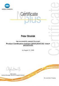 certifikat c203